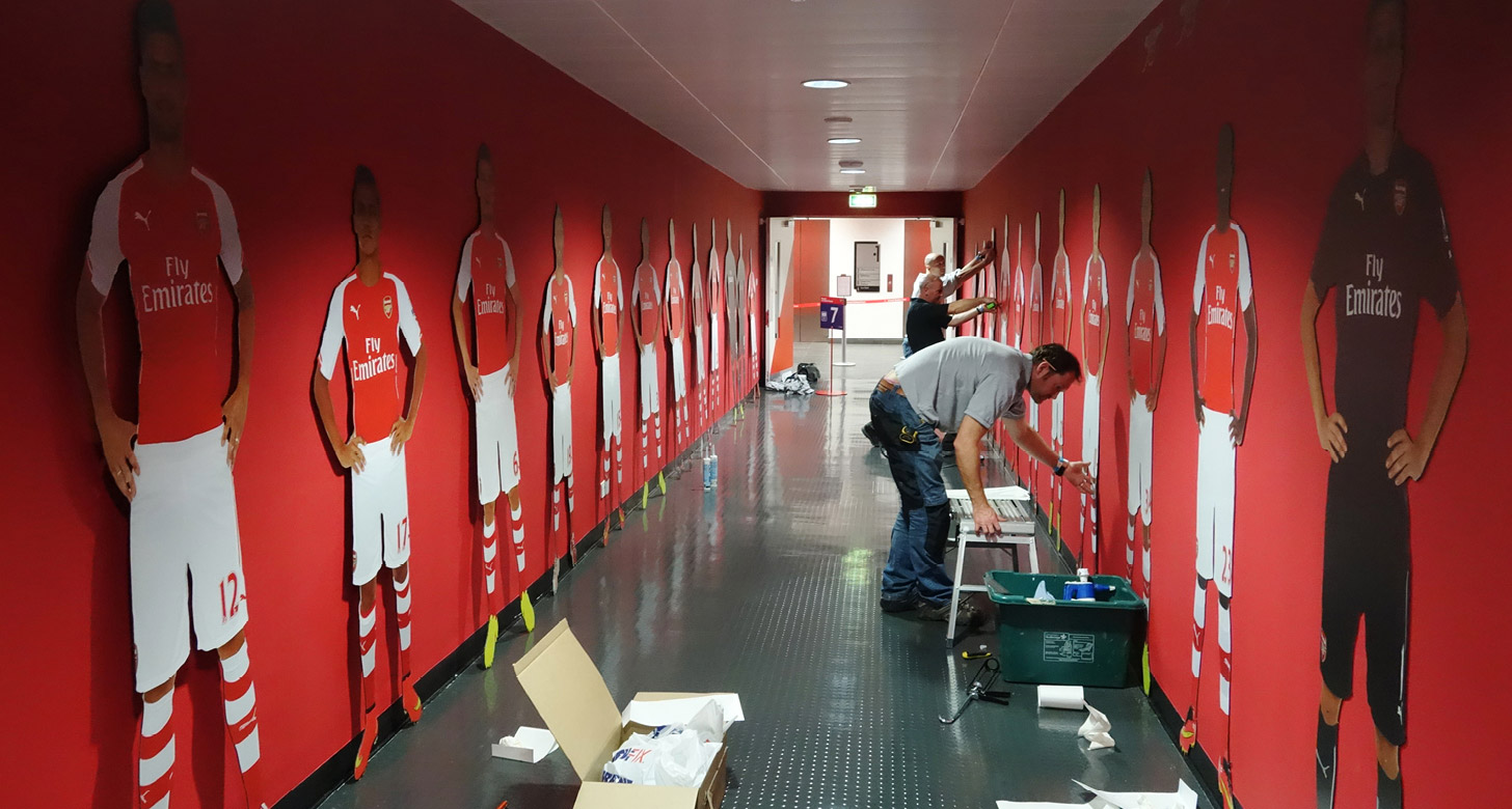 Arsenal Players Tunnel