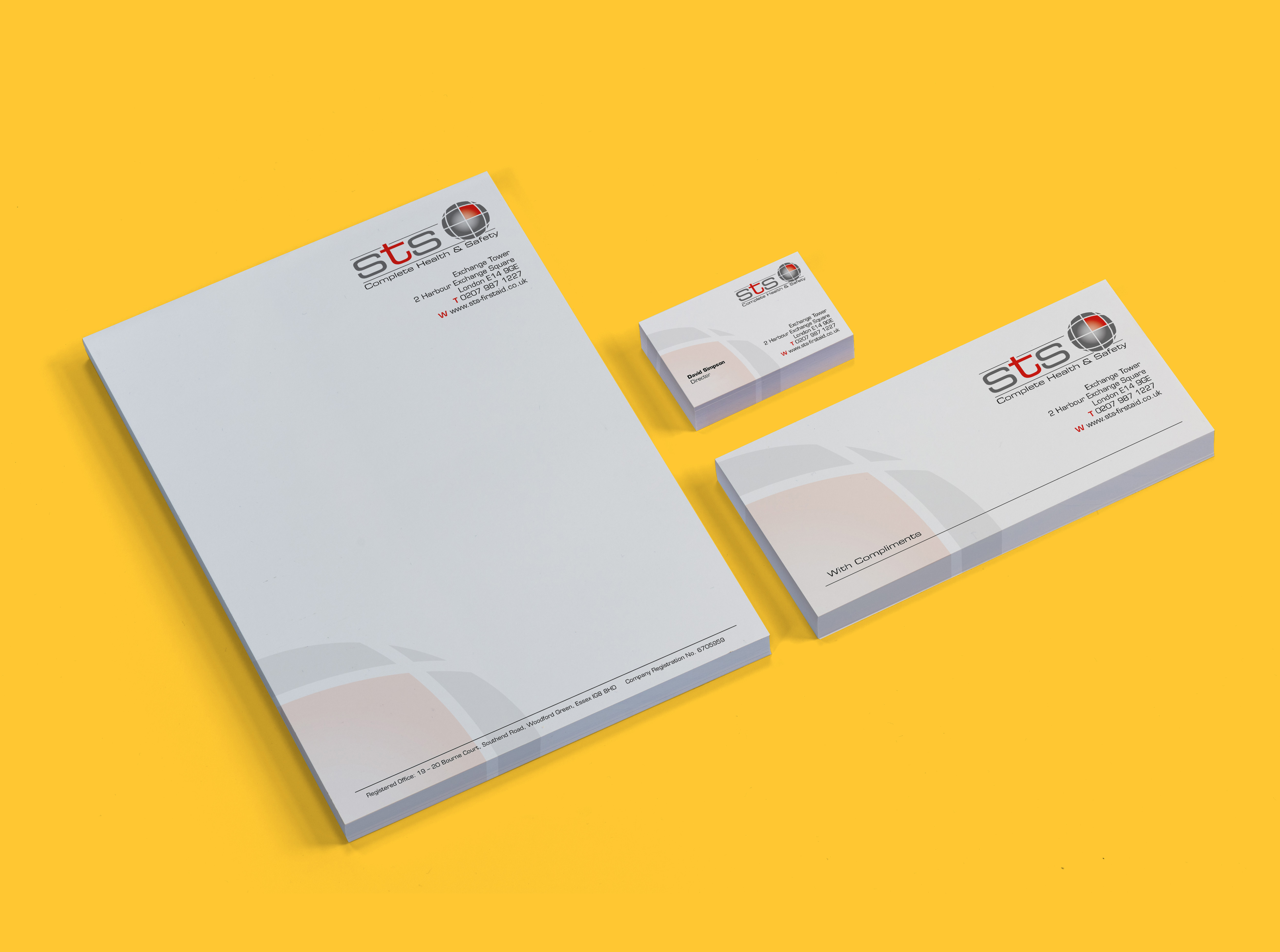 Stationary is a great way to impress clients