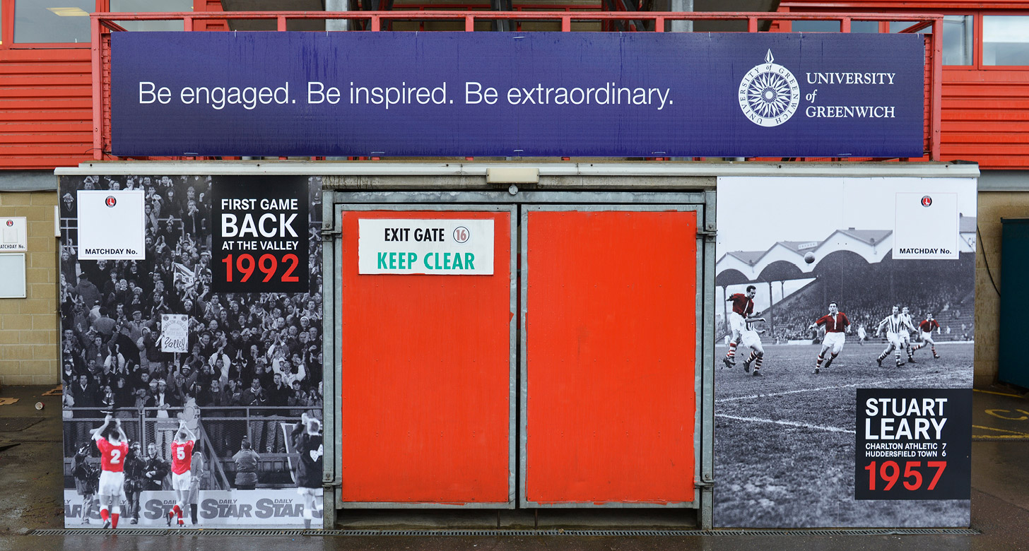 Charlton Athletic Large Format