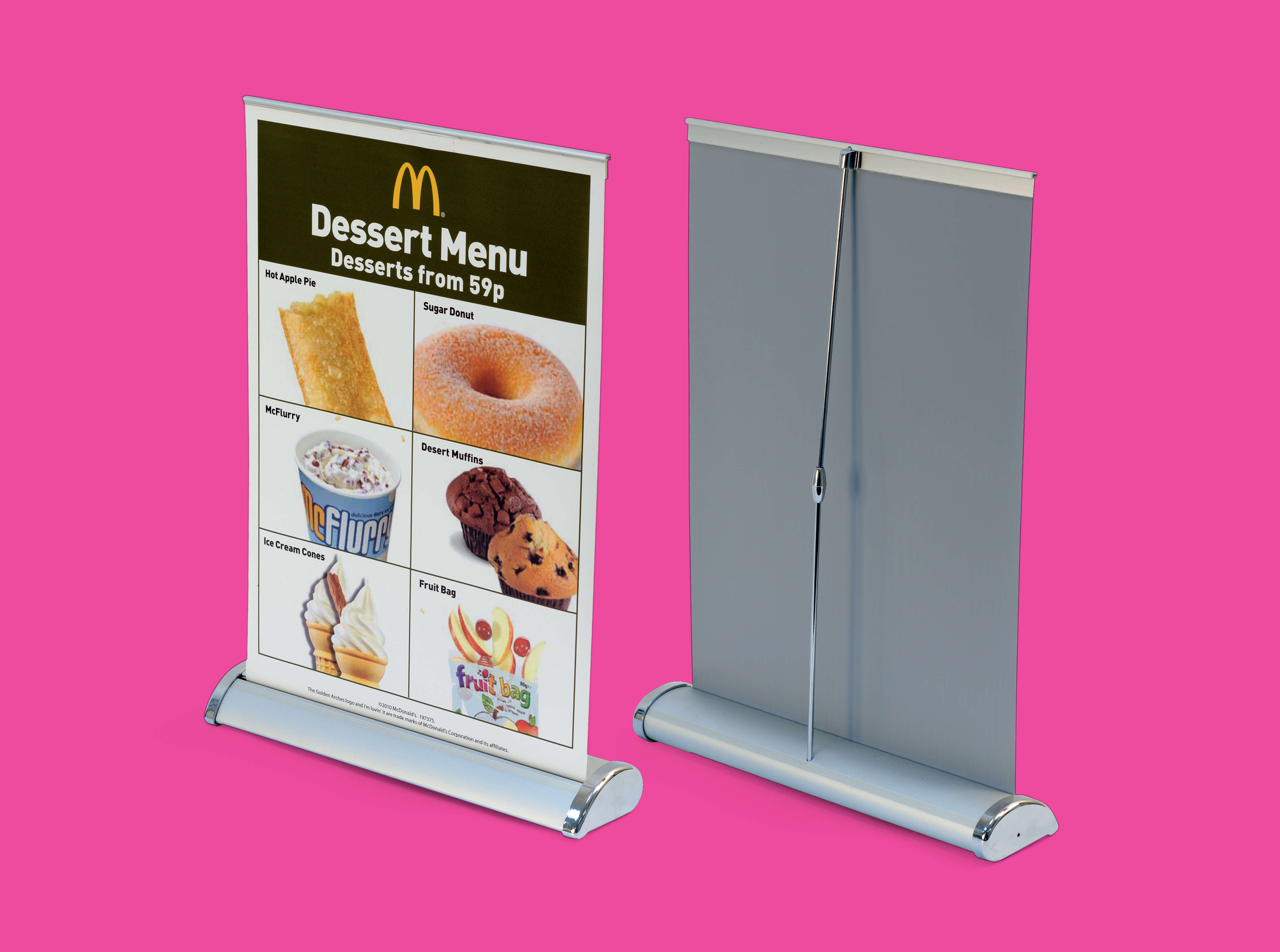 Ideal for desktops and suitable counters