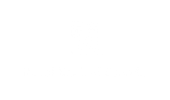Royal Bank of Canada Logo White Out
