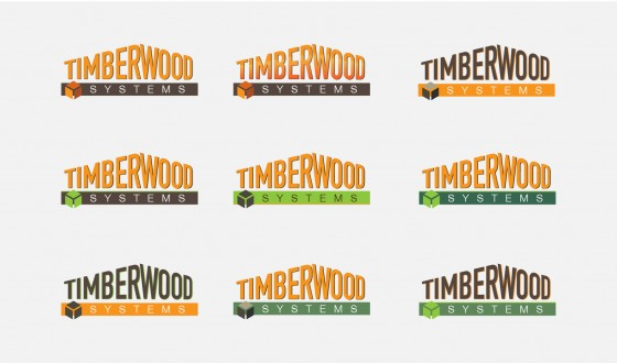 Timberwood Repeated Logo