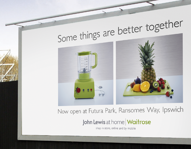 Waitrose billboard