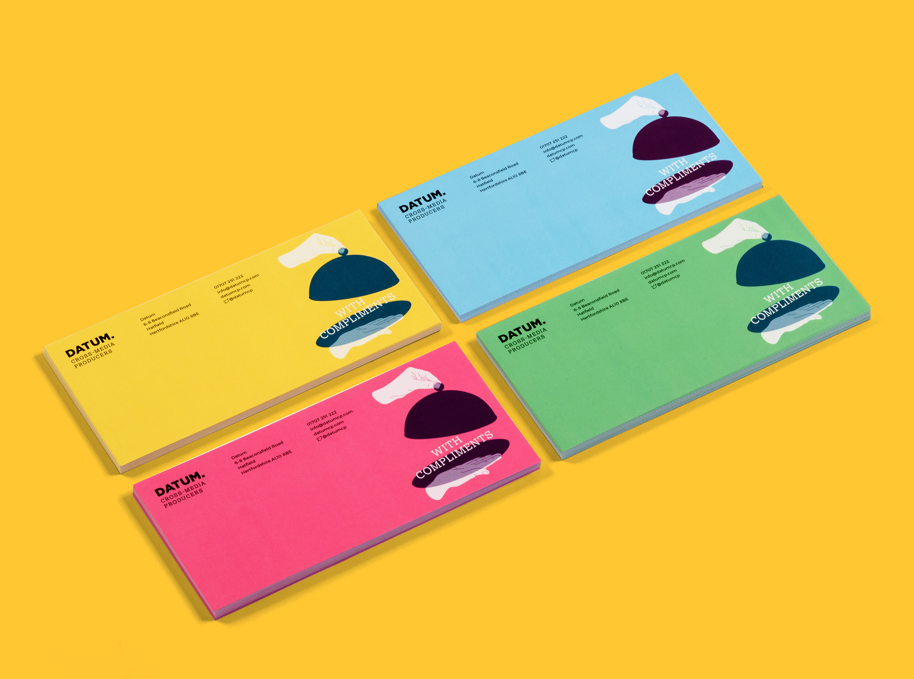 Compliment slips