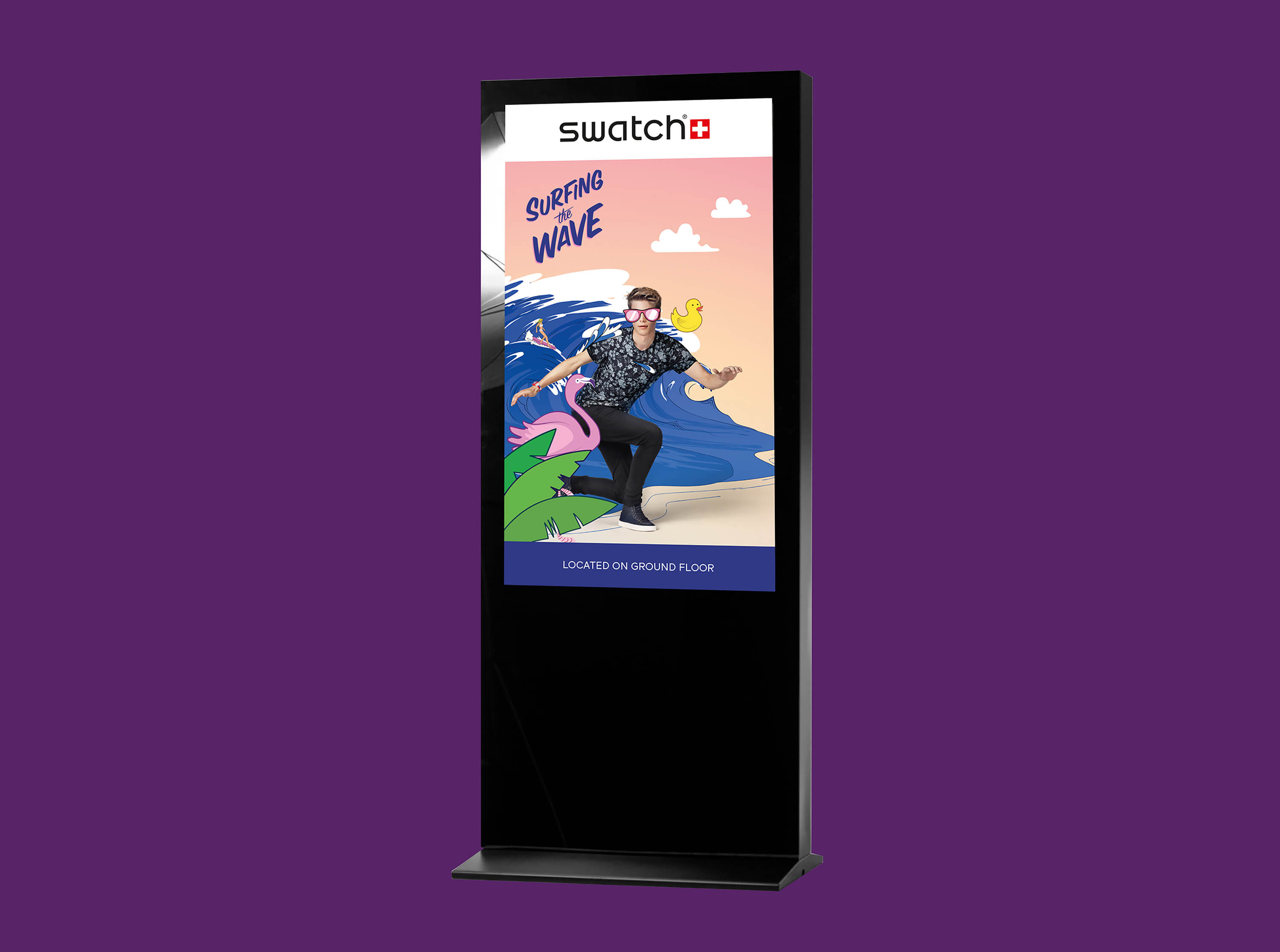 Digital Screen Advert Signage