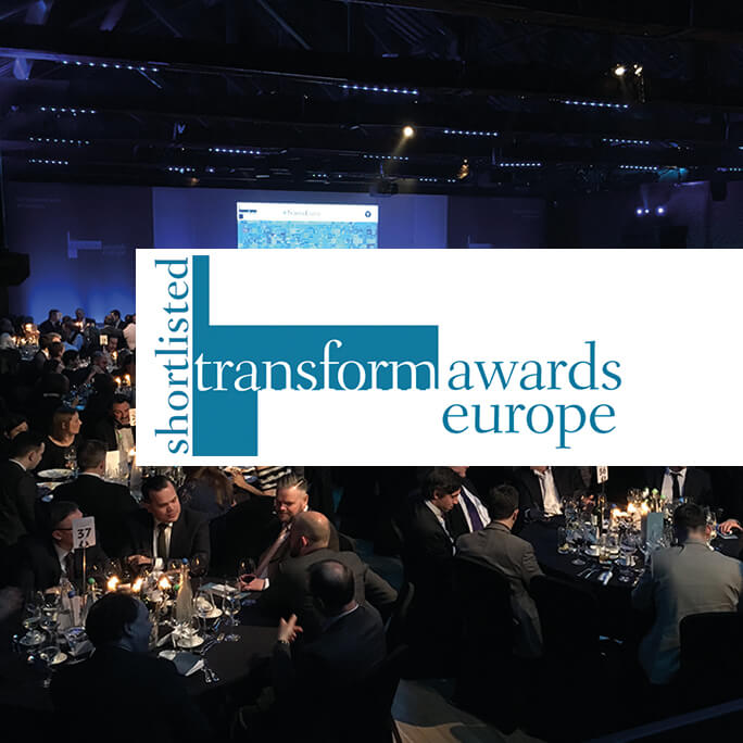 Transform Awards Europe 2016