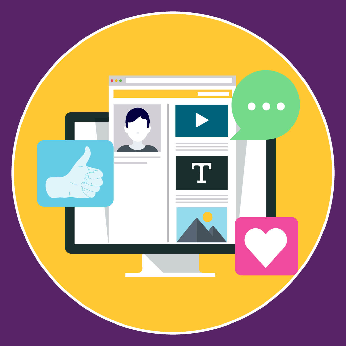 Helping clients with social media