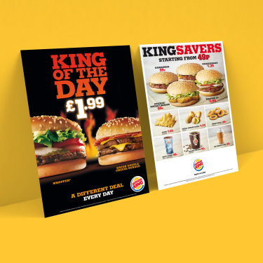 Burger King Kapa boards