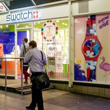 Swatch window graphics