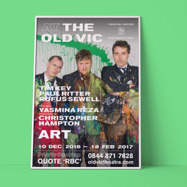 RBC The old vic posters