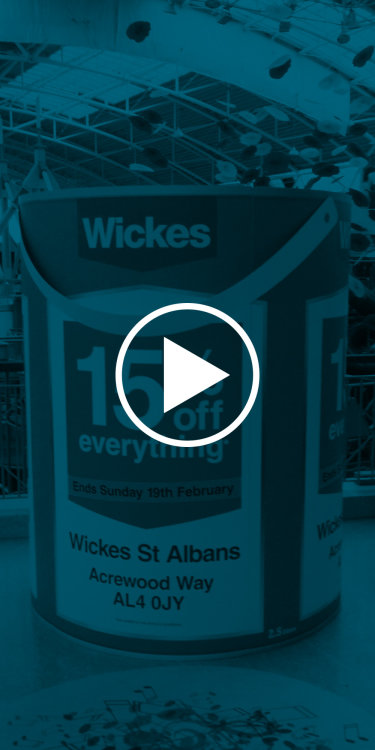 Wickes Giant <br/>paint pot