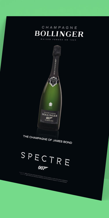Bollinger James Bond Campaign