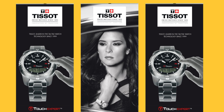 Tissot Pull up banners